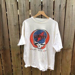 Vintage Grateful Dead SF Giants Shirt